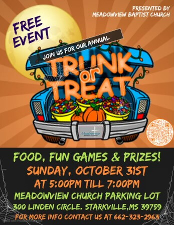 Trunk - or - Treat